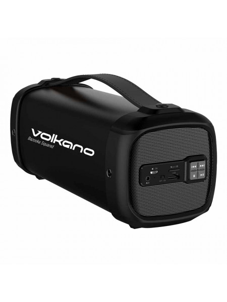 Volkano Bazooka Squared series Bluetooth speaker Square shape - Black