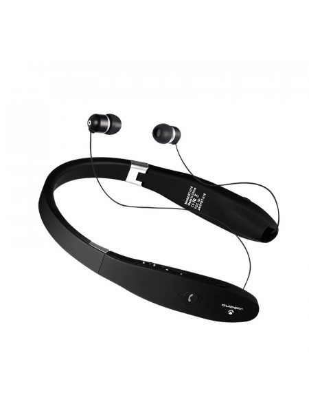 Volkano Cravat series Bluetooth earphone with neckband - black