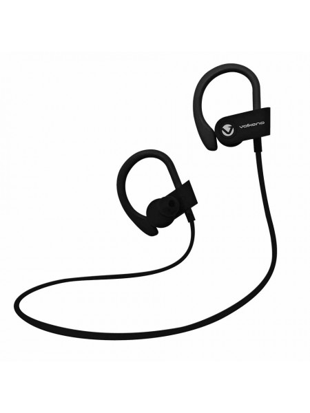 Volkano Race series Bluetooth Sport earhook earphones - black/red