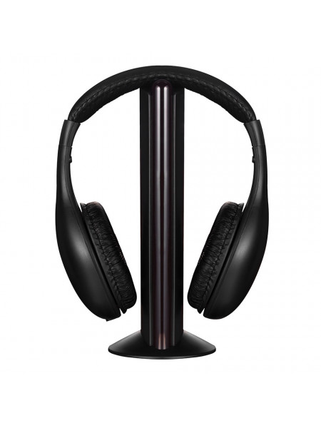 Volkano Freewave Series Wireless Headphones non bluetooth - Black