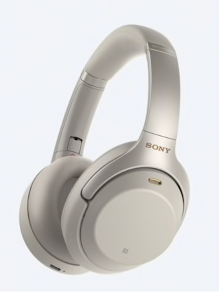 Sony Wireless Bluetooth NFC Headphones with 40h Battery Life - Noise Cancelling