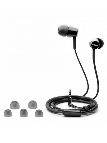 Sony In-Ear Headphones with Mic  MDR-EX155AP