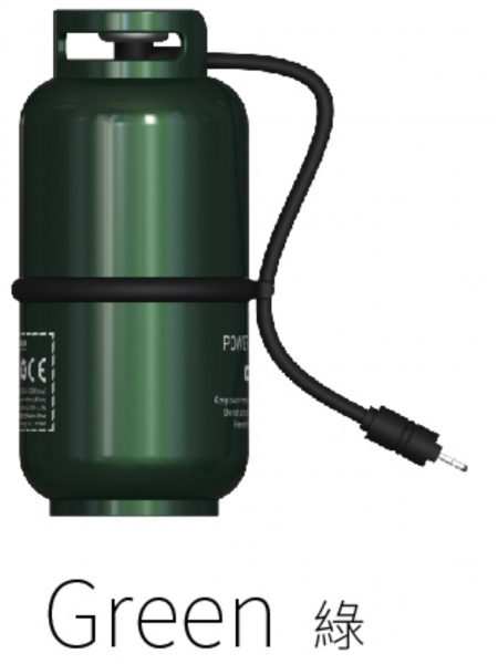 WK Design 10000mah gas cylinder style power bank