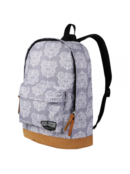 Volkano Suede Series Backpack Baroque (Light Grey)