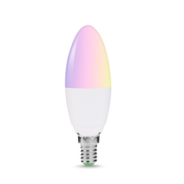 A Smart home - Colour Changing wifi enabled Candle globe