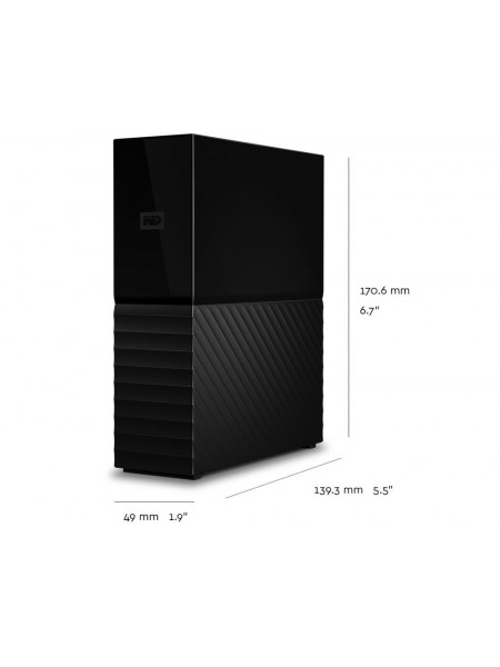 "Western Digital My book External 3.5"" storage device 3TB to 10TB"