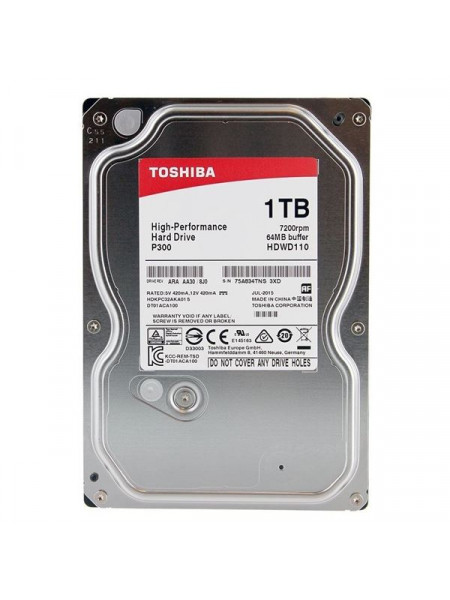 Toshiba P300 series 1 to 3TB 7200 RPM-3.5-inch HDD
