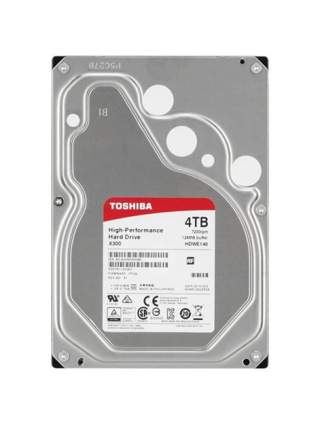 Toshiba X300 series 4 to 6TB 7200 RPM-3.5-inch HDD