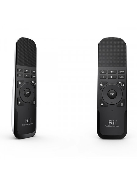 RII WIRELESS AIR MOUSE REMOTE BLACK AND WHITE