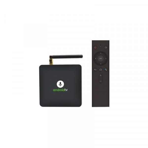 MECOOL KM8 Android 9.0 64bit Tv Box with quad core processor google certified