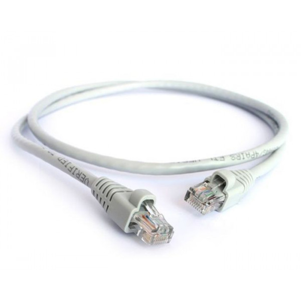 CAT6 pure copper pre made leads in grey 0.5M to 10M