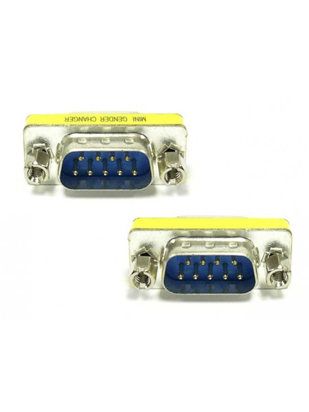9 pin serial male to male adaptor