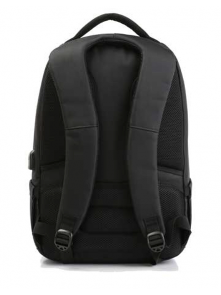 "Kingsons 15.6"" Backpack Charged series Black with USB charge integration"