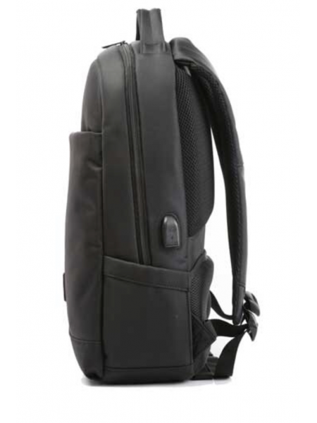 """Kingsons 15.6"""" Backpack Charged series Black with USB charge integration"""