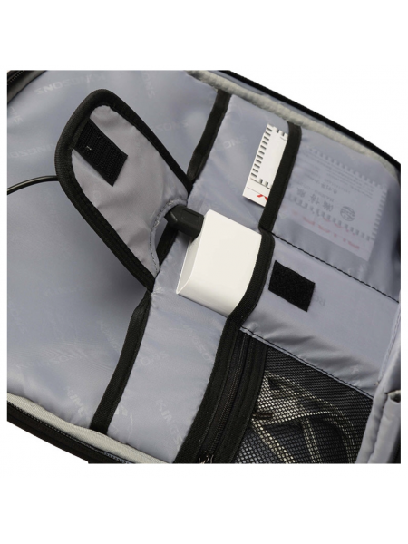 """Kingsons 15.6"""" Stealth series Backpack with USB charge interface and hidden compartment"""