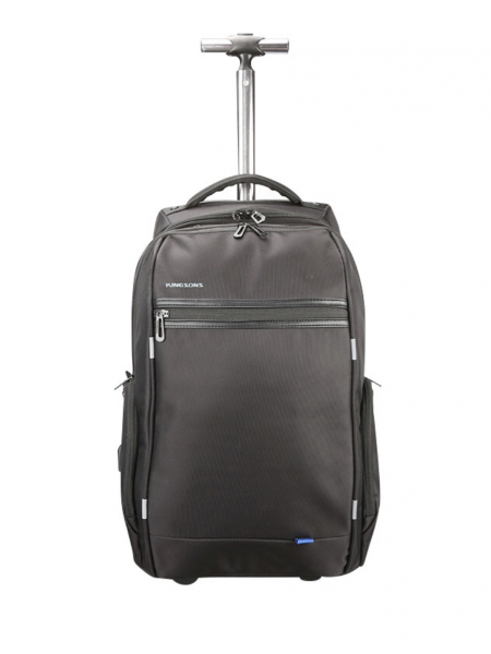 "Kingsons 15.6"" Smart Series Trolley backpack with USB charge interface"