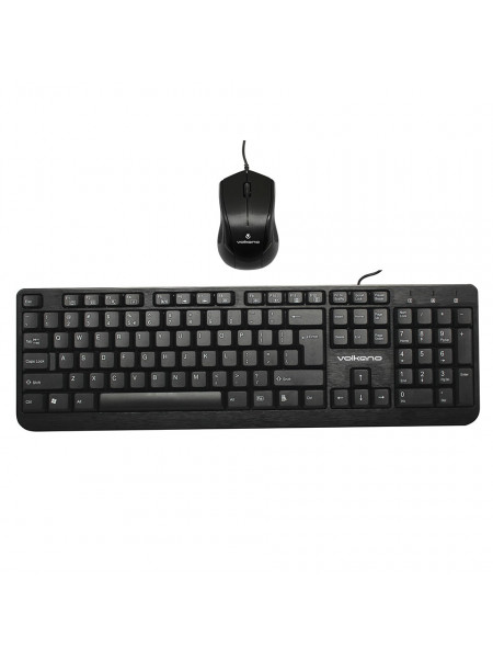Volkano Mineral Series USB Wired Mouse and Keyboard Combo