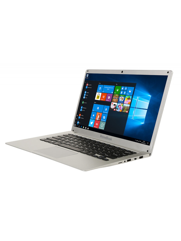 "Connex Primebook laptop 14"" 32GB on board flash storage -  silver"