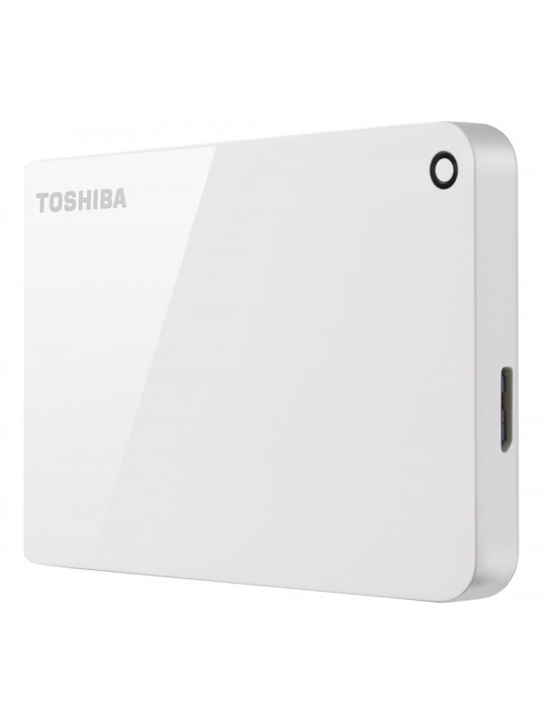 "Toshiba Canvio Advance 2.5"" 2TB USB 3.0 Black - Glossy piano finish - Password protection"