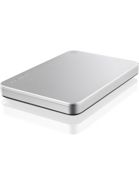"Toshiba Canvio Premium 2.5"" 3TB USB 3.0 Aluminium finish - Password protection Type-C"