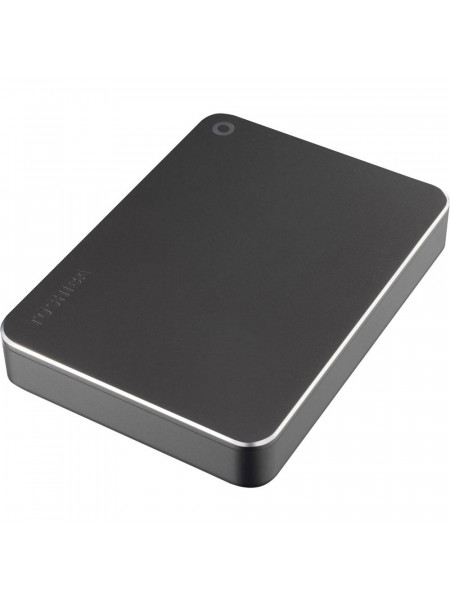 "Toshiba Canvio Premium 2.5"" 2TB USB 3.0 Aluminium finish - Password protection Type-C"
