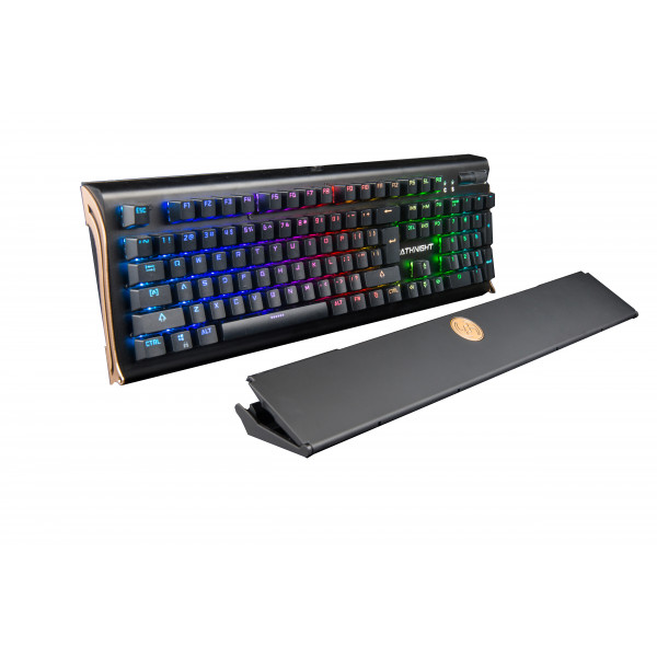 Batknight Gaming Mechanical RGB gaming keyboard with detachable fold over cover