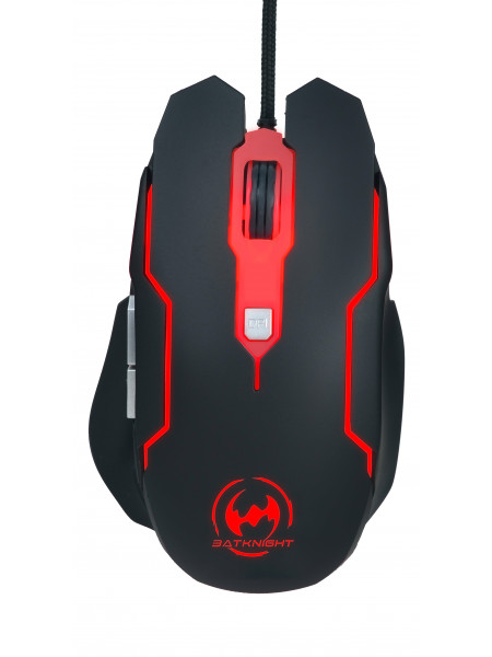 Batknight Gaming 6D 7 color wired gaming mouse 2400DPI