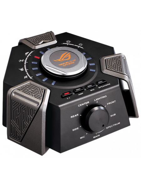 Asus ROG Centurion true 7.1 gaming headset with digital microphone, Hi-Fi-grade headphone amplifier, and USB audio station