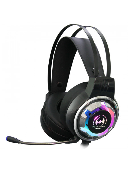 Batknight Gaming Pro 7.1 USB RGB Gaming headset