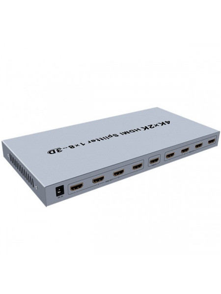 DTEC HDMI splitter 1 in 8 out 4K powered unit