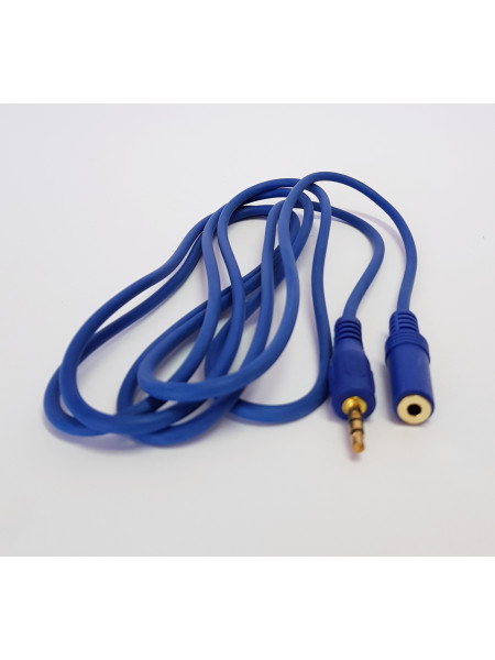 Patch cord 3.5mm mini jack male to female 2M extension