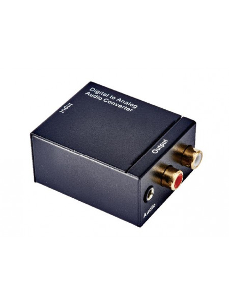 Digital to Analogue active converter unit