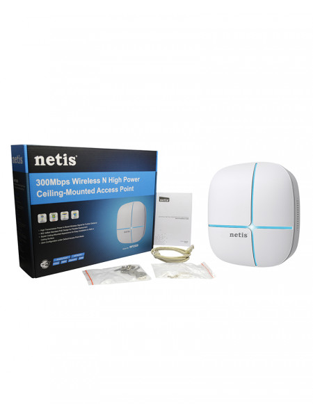 Netis 300Mbps Wireless N High Power Ceiling-Mounted Access Point