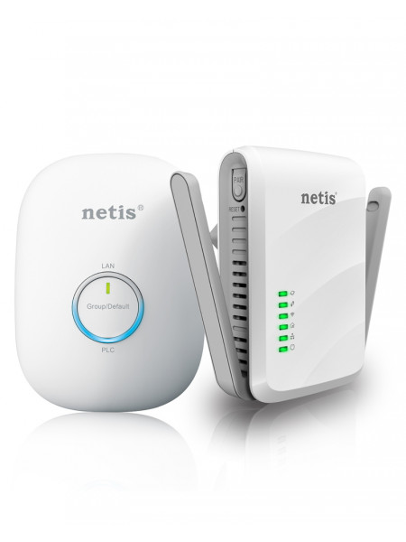Netis 300Mbps AV600 Wireless Powerline Adapter Kit
