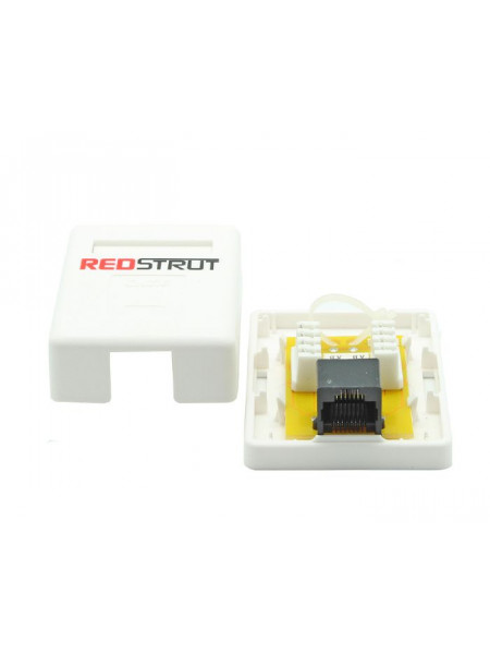 RJ45 Single point Surface Mount box Category 5/6