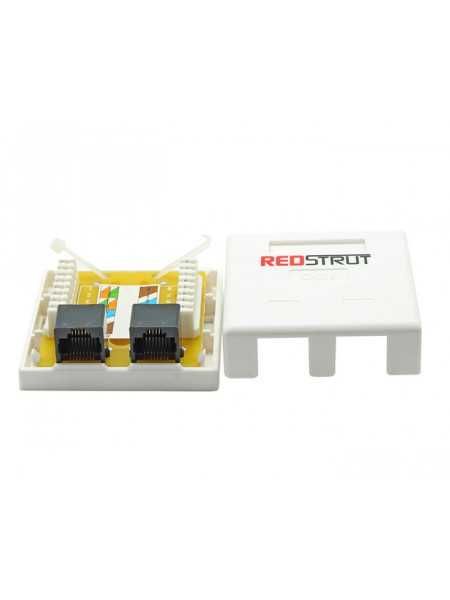 RJ45 Double point Surface Mount box Category 5/6