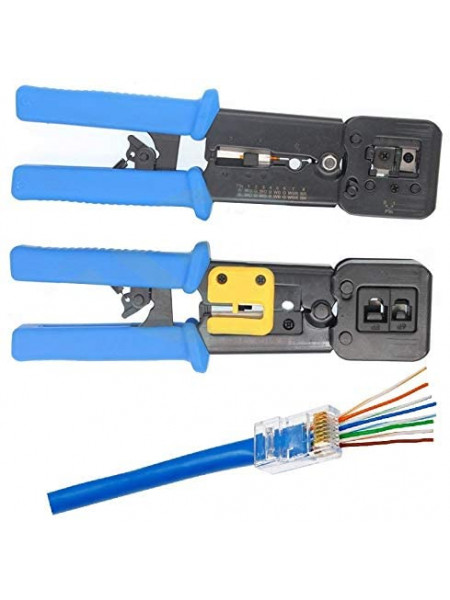 RJ45 Crimping tool for EZ connector