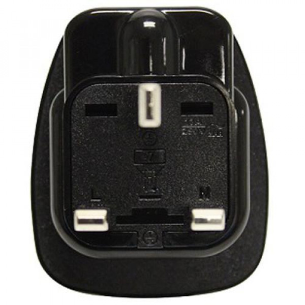 T Brand SA to UK travel adaptor for SA 2 and 3 pin