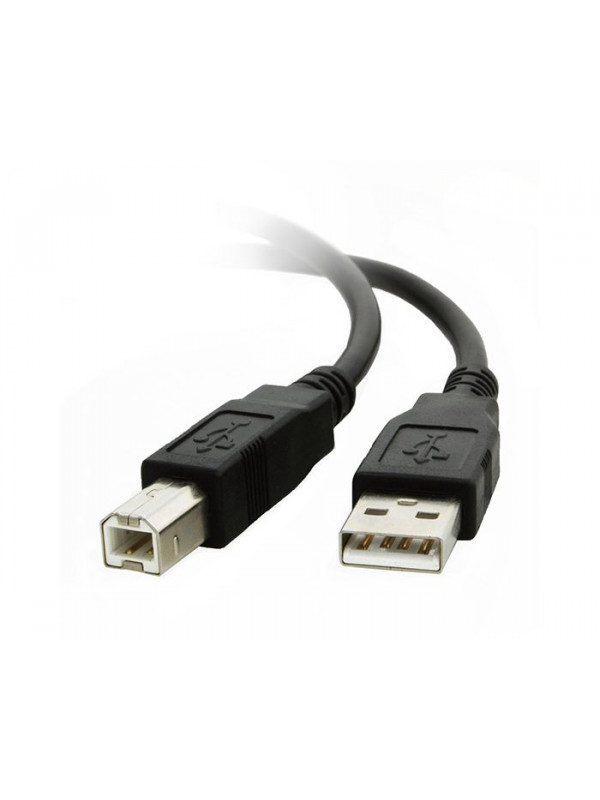 USB A to B cable for printer and hard drive