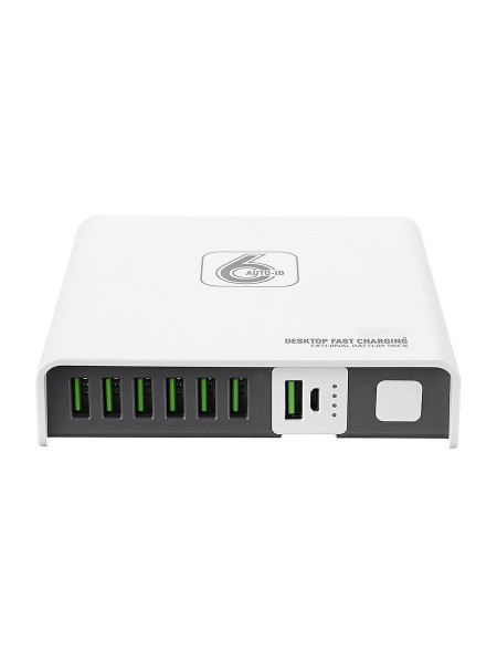 LDNIO 2A 6 port desktop USB Charger with removable powerbank