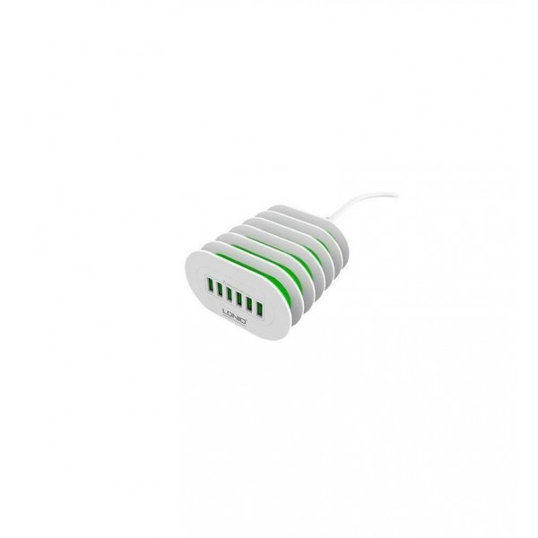 LDNIO 7A 6 Port desktop USB Charger fast Charge application