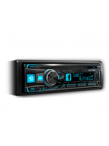 Headunit ALPINE CDE-185BT CD RECEIVER WITH ADVANCED BLUETOOTH