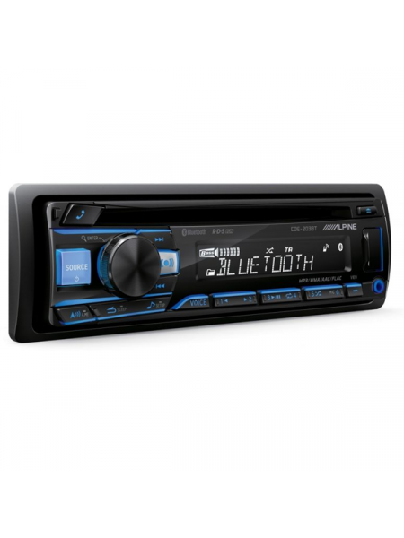 Headunit ALPINE CDE-203BT CD/USB RECEIVER WITH BLUETOOTH