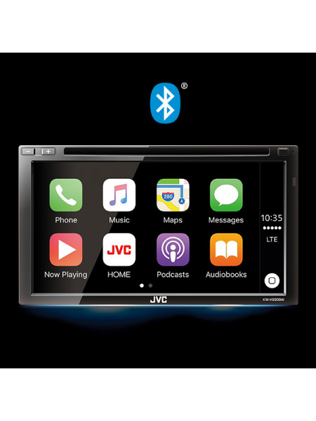 Headunit JVC KW-V940BW MULTIMEDIA RECEIVER FEATURING 6.8″ CLEAR RESISTIVE TOUCH MONITOR