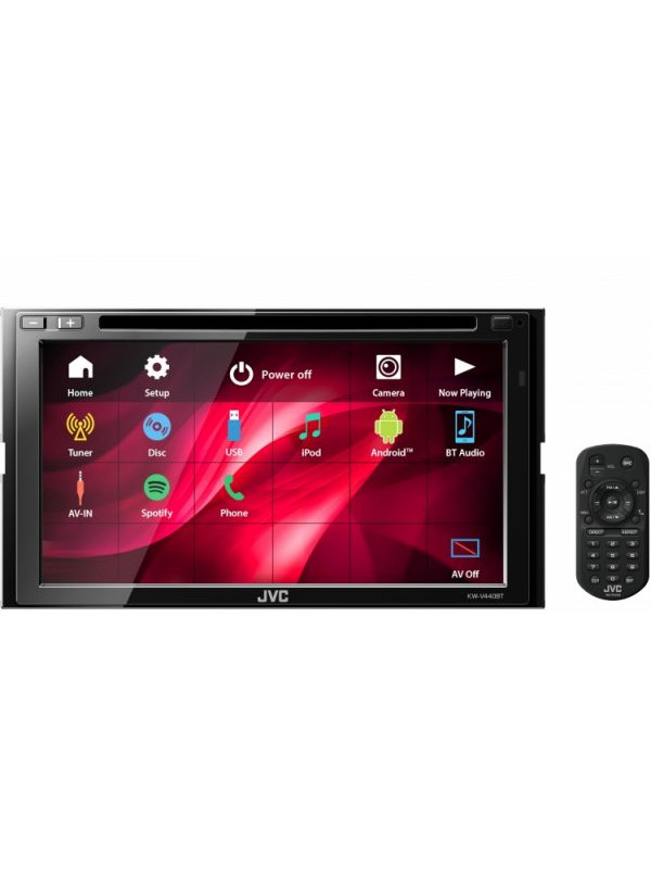 Headunit JVC KW-V440BT DVD/CD/USB RECEIVER WITH BUILT-IN BLUETOOTH® WIRELESS TECHNOLOGY