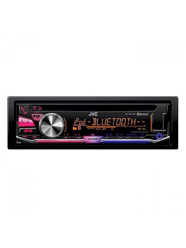 Headunit JVC KD-R971BT CD RECEIVER WITH BLUETOOTH AND FRONT USB/AUX INPUT