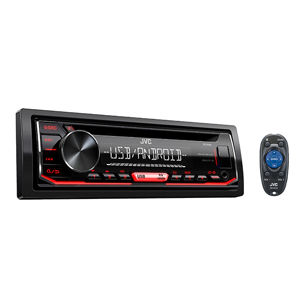 Headunit JVC KD-R492 1-DIN CD RECEIVER