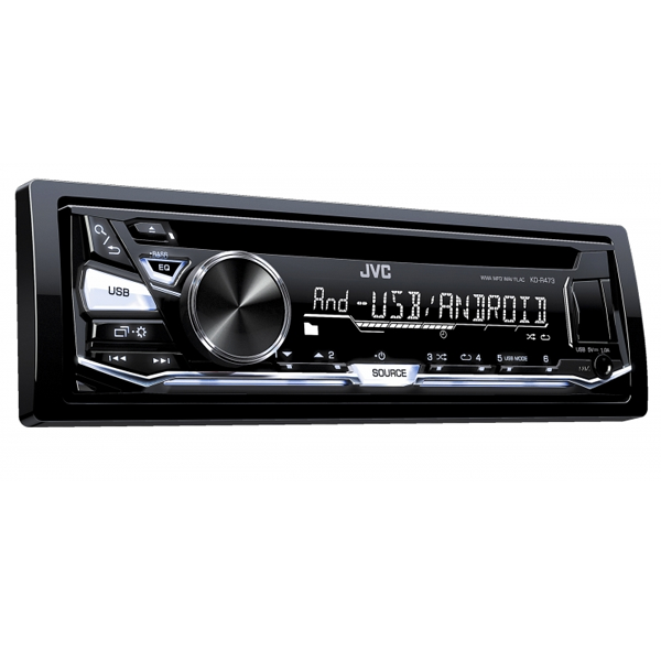 Headunit JVC KD-R473M CD RECEIVER WITH FRONT USB/AUX INPUT