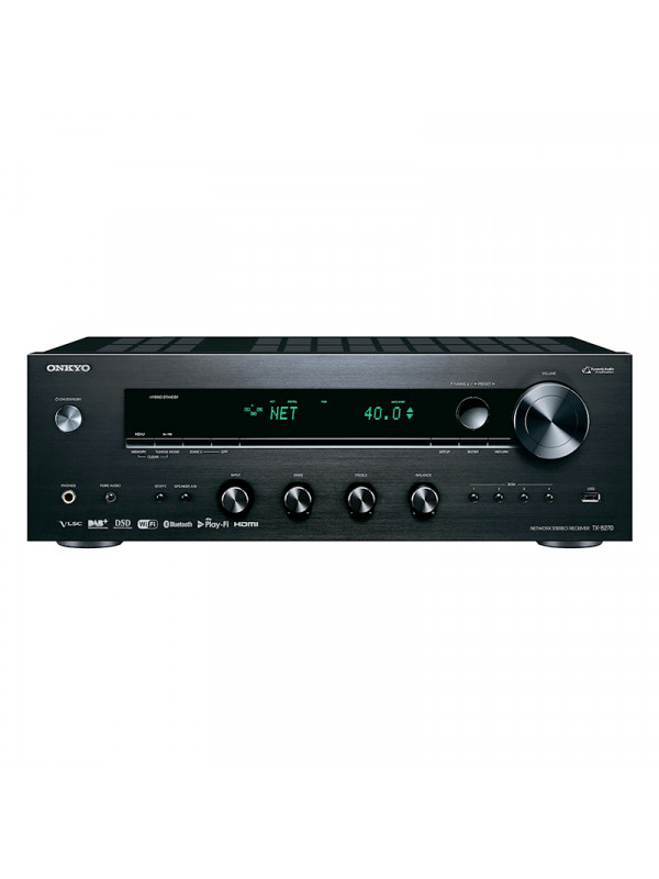 Onkyo TX-8270 Network Stereo reciever 2 x 160 W/CH at 6ohm with HDMI