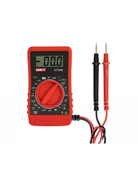 Pocket-Size Digital Multimeter for projects and home use